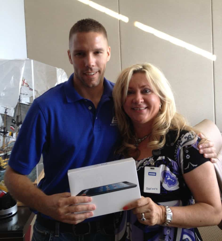 iPad Winner - 4th July 2013