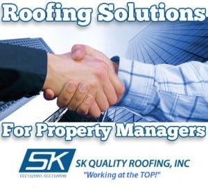 Roofing solutions for Property Managers